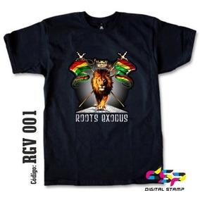 Remeras Reggae Lions 01 Estampado Digital Stamp, Miralas!