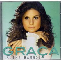 Cd Aline Barros - Graça - Novo***