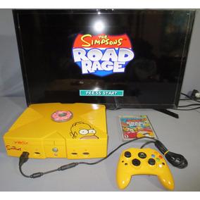 Consola Xbox Clasico The Simpsons **juega Con Estilo**