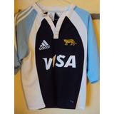 Camiseta Rugby Los Pumas Selección Argentina adidas Visa Xs