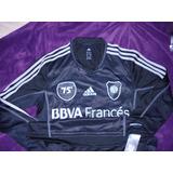 Camiseta Negra River Plate 75 Aniversario Monumental M.larga