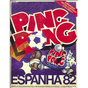 Álbum De Figurinha Futebol Espanha 82 Digitalizado Ping Pong