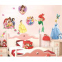 Adhesivo Decorativo Princesas Stickers Pared