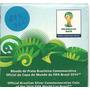 Rco-moeda Prata Copa Fifa 2014 Mascote Fuleco - No Estojo