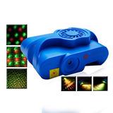 Laser Doble Color Multipuntos Y Estrobeo 150mw Luz Disco Wow