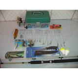 Kit De Pesca Pesada - Completo Promoção