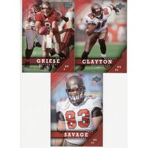2005 Upper Deck Tampa Bay Buccaneers Lote ( 3 ) Tarjetas