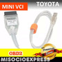 Interface Toyota Escaner Vci Diagnostico Automotriz Tis Usb