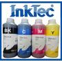 Litro Tinta Inktec Para Impresorsa De Inyeccion De Tinta