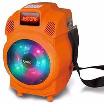 Bocina Jboom Karaoke Amplificada Bluetooth Recargable