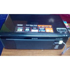 Impresora Epson Tx130 Usada Cabezal Nuevo + Sistema De Tinta
