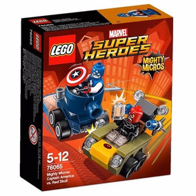 Educando Lego 76065 Superhéroes Capitán America Mightymicros