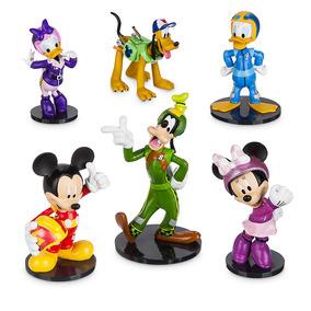 Mickey Aventuras Sobre Ruedas Playset Orig. Disney Store