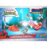 Pista Mega Rampa De Spiderman Niños Hot Wheels Carro