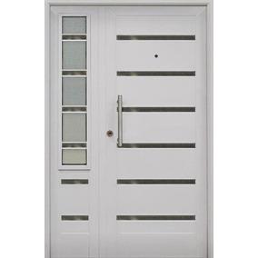 Portada Puerta Y Media Vidriada Pavir Verona Premium 120x200