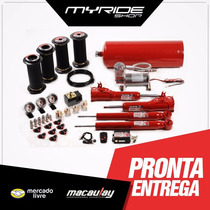 Saveiro G1 G2 G3 G4 Macaulay Kit Suspensão Ar 8mm Compressor