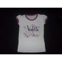 2x1!!!!! Vestido + Remera Violetta Disney Talle 6!!!!!