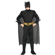 Disfraz Traje De Lujo Dark Knight Batman Tamaño Adulto Pm0