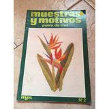 Revista Muestras Y Motivos Importada Ponto Cruz 2