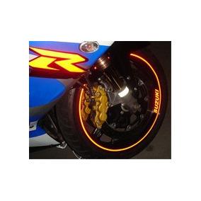 Friso Adesivo Refletivo Curvo Roda Moto Carro + Brindes 10mm