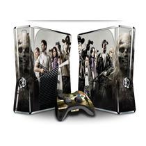 Skin Adesivo Xbox 360 Slim Vinil Película Skin Fosco