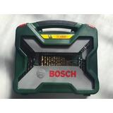 Kit Titanium Ferramentas E Brocas X-line Bosch 103 Peças