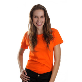 Kit 10 Blusa Feminina Camiseta Baby Look Lisa Manga Curta