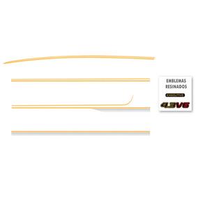 Kit Adesivo Lateral Faixa Completo Blazer Executive 97 00