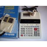 Calculadora Casio Sumadora Impresora Fr-1215s De 12 Digitos