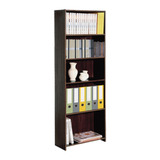 Biblioteca Librero Platinum 90130 Repisa 5 Estantes Melamina