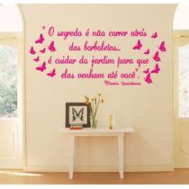 Adesivos Decorativos De Parede Frases Decoração De Casa