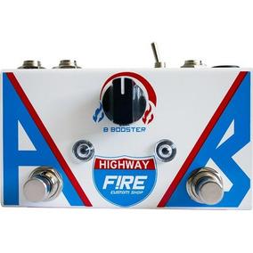 Pedal Guitarra Baixo Fire Ab Box Highway Booster 3 Anos Gar