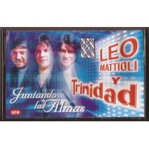 Leo Mattioli Y Trinidad Juntando Almas Cassette Nuevo Cumbia