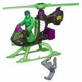 Hulk Adventures Marvel Helicoptero De Rescate + Figura Plays