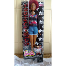 Boneca Barbie Fashionista 2016 Grace Tall