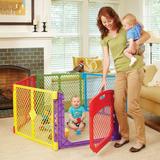 Corral Portatil Con Puerta Abatible - Superyard Color Play