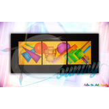 Cuadro Abstracto 3d Muralismo