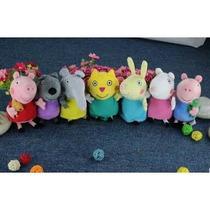 Coleção Kit Peppa Pig George + 8 Amigos