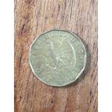 Moneda Antigua Chilena 100 Escudos Año 1974