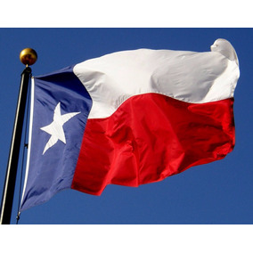 Bandera De Texas (usa) 90x150cm. Banderas Del Mundo