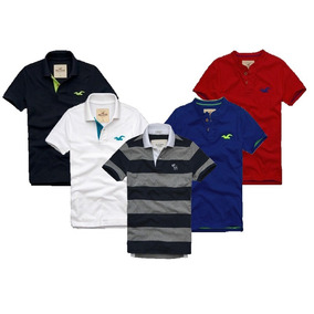 Kit 10 Camisetas Polo Abercrombie & Fitch E Hollister!!!