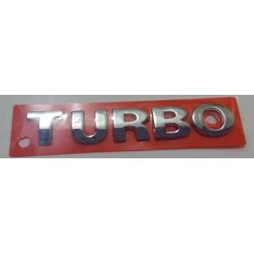 Emblema Turbo Cromado Mini Gol Voyage Parati Polo Fox Golf