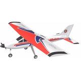 Aeromodelo Albatroz Para Motores: 60 A 90 (vermelho) Incoaer
