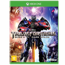 Transformers Rise Of The Dark Spark Xone Midia Fisica