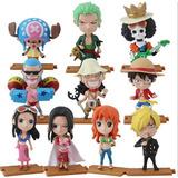 One Piece Boneco Luffy Zoro Sanji Nami Usopp Action Figure