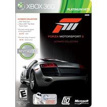 Videojuego Forza Motorsport 3 Para Xbox 360