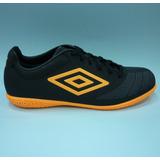 Zapatos Umbro Original Futbol Sala Hombres 81187u - Black Or