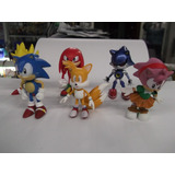 Figuras De Sonic The Hedgehog Set De 6 Pzas