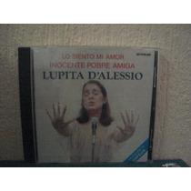 Lupita Dalessio Cd En Concierto, Inocente Pobre Amiga Usa.