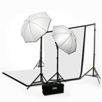 Kit / Estudio Fotografico Portatil Profesional Muselinas